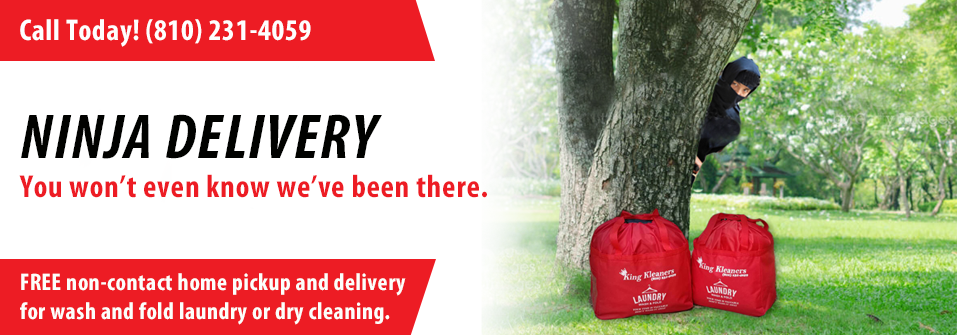 Free Laundry Pick up and Delivery
